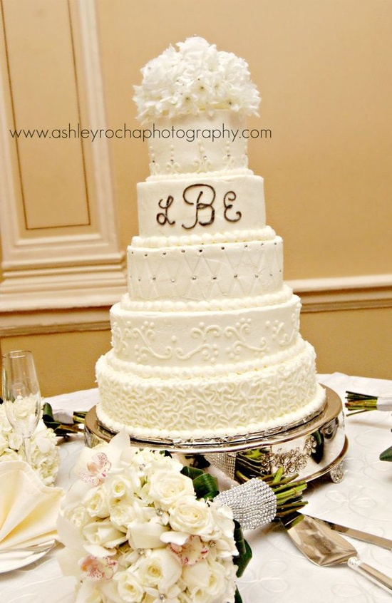 Our wedding cake :)
