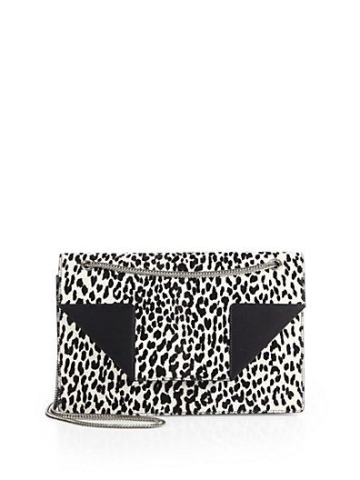 saint laurent betty 2 baby cat print calf hair chain shoulder bag, from saks. $1,393 from $1,990