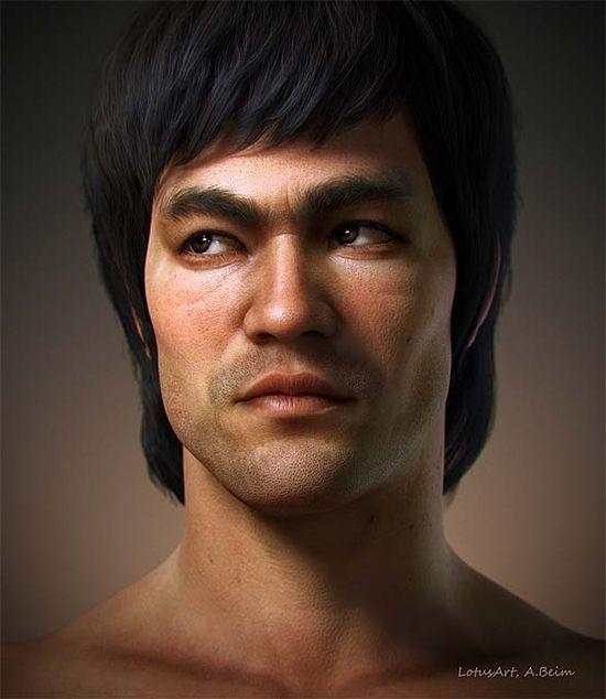 Pixologic ZBrush Gallery: Bruce Lee