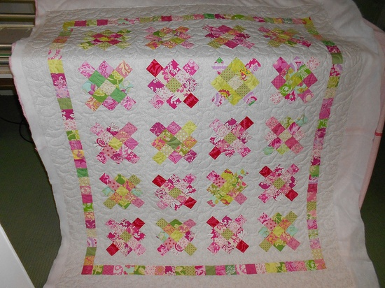 Granny Squares quilt along. by Gael Tino, via Flickr - love the border!