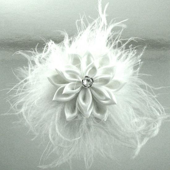 Wispy White Feathers