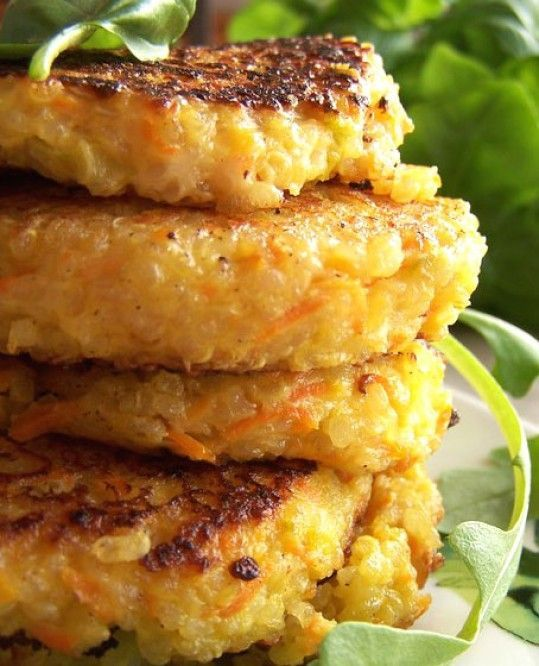 Quinoa  and Leek Patties