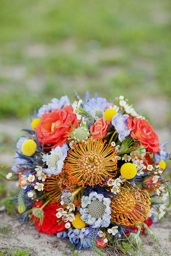 i love the wildflowers