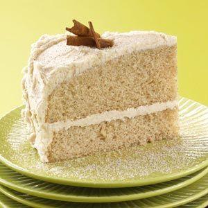 Cinnamon & Sugar Cake Recipe from Taste of Home