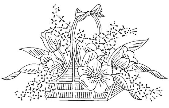 Basket of Flowers Flickr.com
