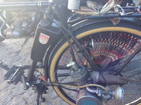 Bike + Motor = Motorbike ;-) DGRHH 2013