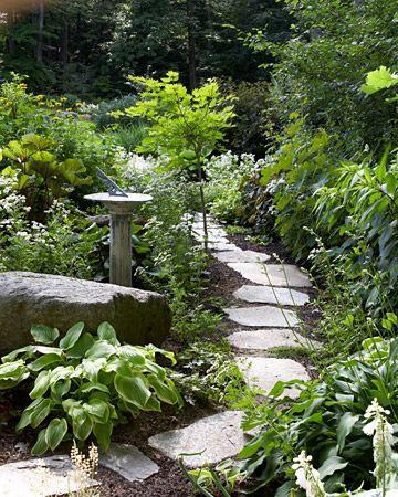 Love this path through the garden.