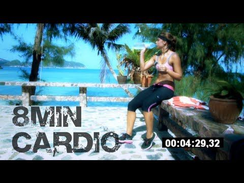 8 Minute Intense Cardio Workout for Women
