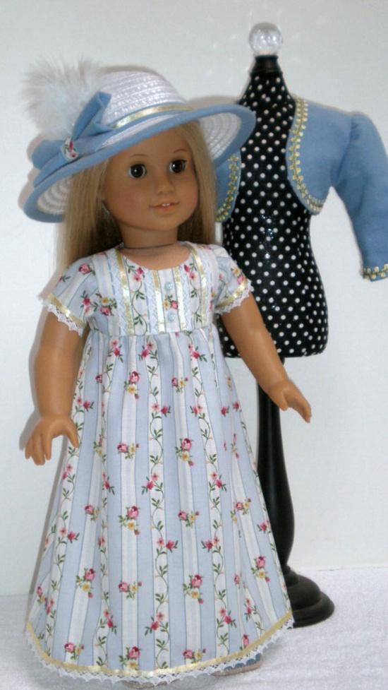 CAROLINE ABBOTT REGENCY Dress--gorgeous