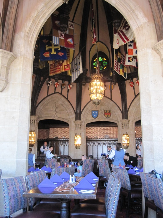 Having breakfast with the Princesses here!! Cinderella's Royal Table at Magic Kingdom. Walt Disney World.
