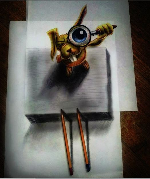 """My 3-D Art """"Pick of the Day."""""""