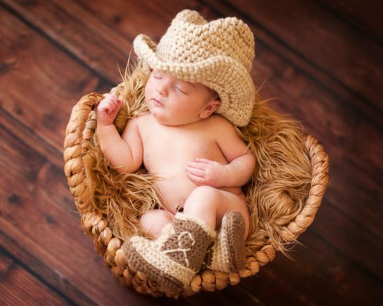 Cowboy Boots and Cowboy Hat Cowboy baby shower Brown by Dremnstar, $35.50