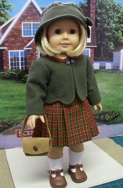 5pc. 1930's outfit made for American Girl Doll Kit