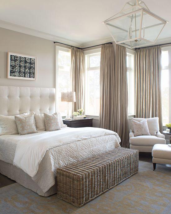 serene bedroom - Wayne Windham Architect