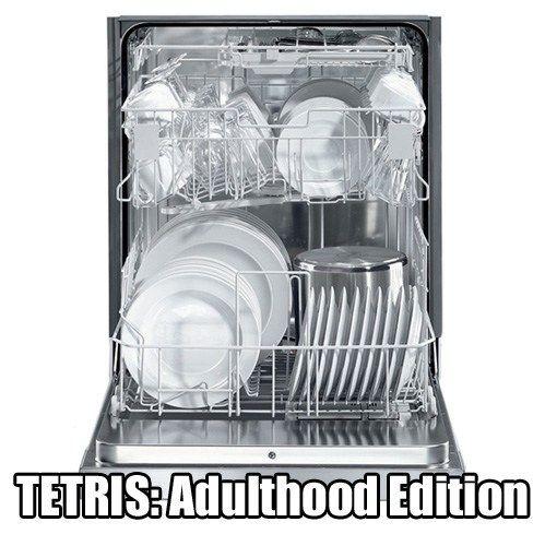 Tetris: Adulthood version