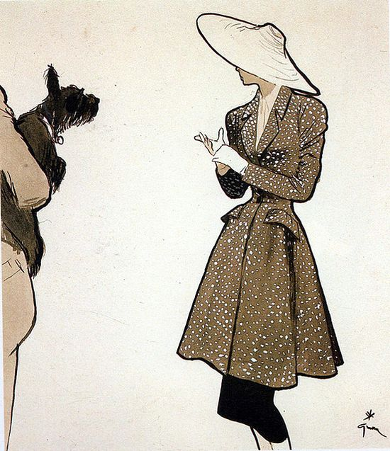 Gruau fashion illustration