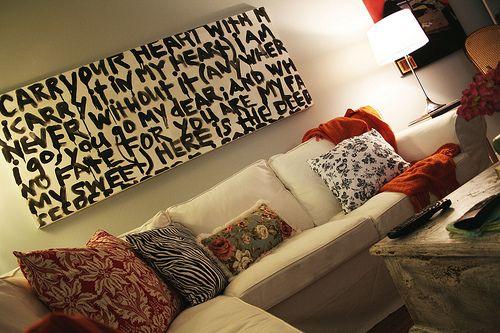 Cheap and Easy DIY Wall Art