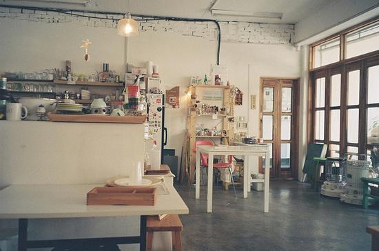 Cafe Flat. Too cute.