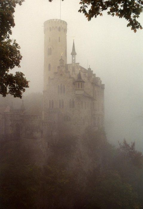 Castle in the mist.......
