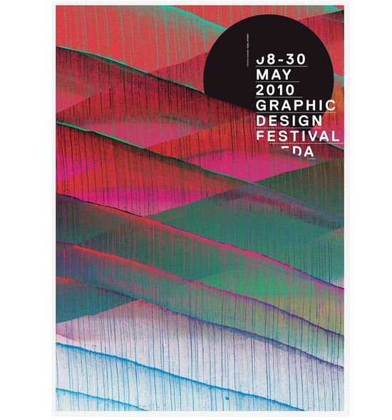 Graphic Design Festival poster by Toko.nu