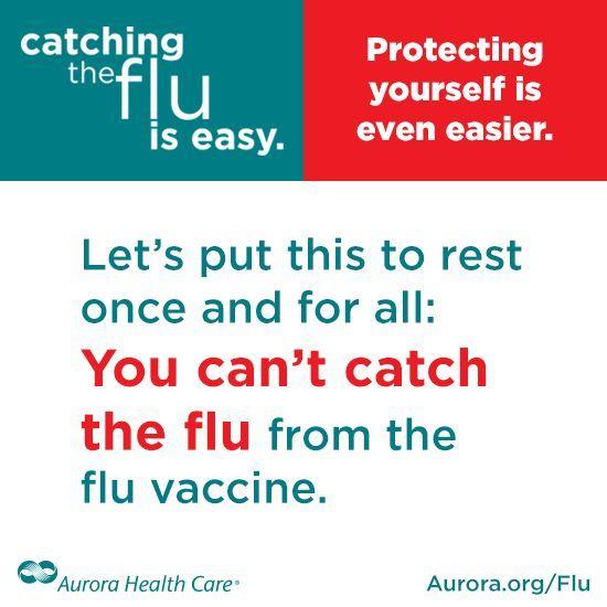 Flu shot facts - Aurora Health #organic health #better health naturally #health guide