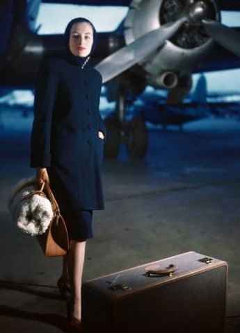 Timeless class - still in fashion after 65+ years! New York, January 1946