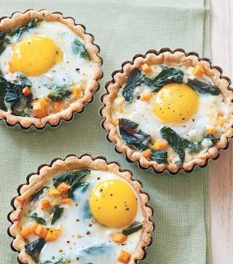 Savory Egg Tarts