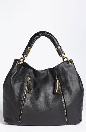 Michael Kors 'Tonne' Leather Hobo