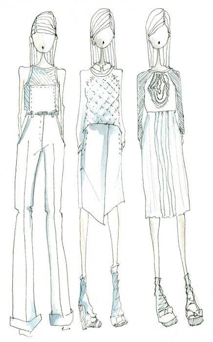 tibi #illustration #fashion