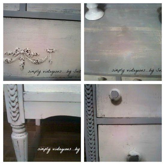 Shabby Chic Dresser details - myshabbychicdecor... - #shabby chic #home decor #design #ideas #wedding #living room #bedroom #bathroom #kithcen #shabby chic furniture