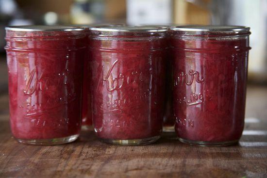 rhubarb jam. I need to make this!