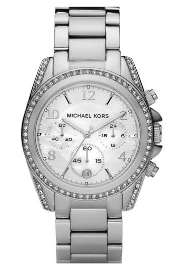 Michael Kors 'Blair' Mother-of-Pearl Watch