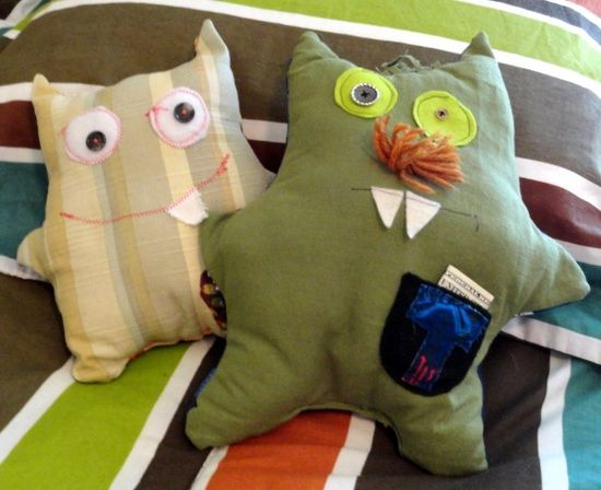 Creating with kids: How to design, cut, and sew a plushie stuffed animal with scrap fabric - thesoutherninstit...