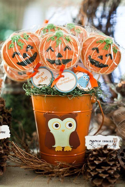 Owl Halloween Party #owl #Halloween #orange #pumpkin #candy corn