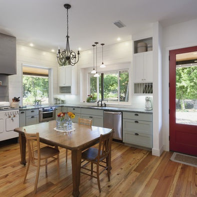 Spaces Red White Blue Kitchen Design, Pictures, Remodel, Decor and Ideas - page 2