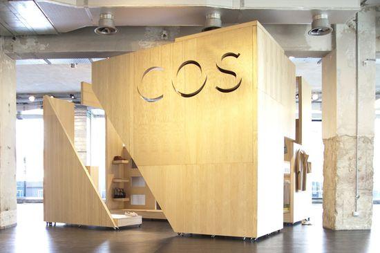 COS Pop up shop Salone del Mobile, Milan