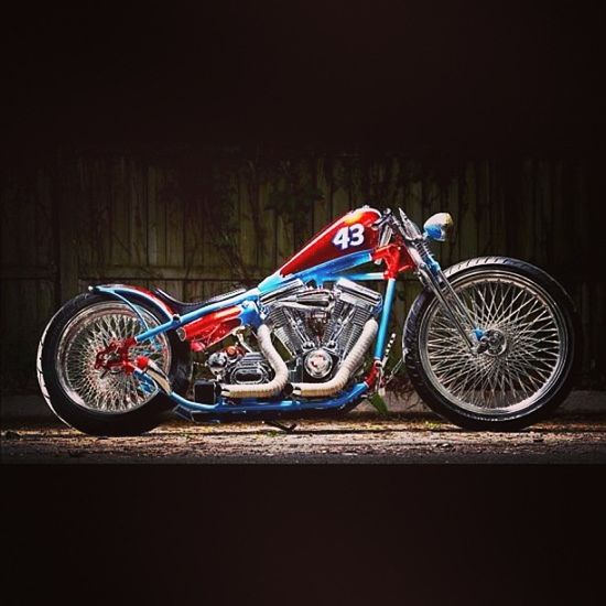 Captain America Motorcycle Colors