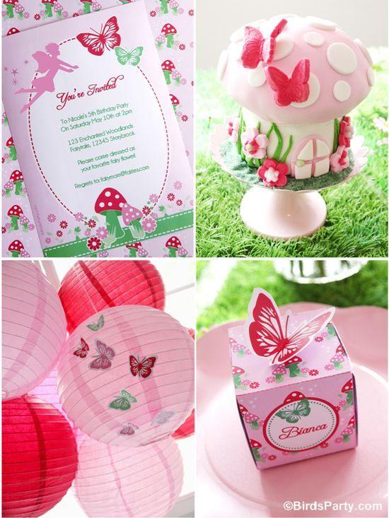 How to Style a DIY Pixie Fairy Birthday Party!   #fairies #pixie #birthdays #handmade paper baskets #handmade jewelry designers #handmade furniture #handmade houses