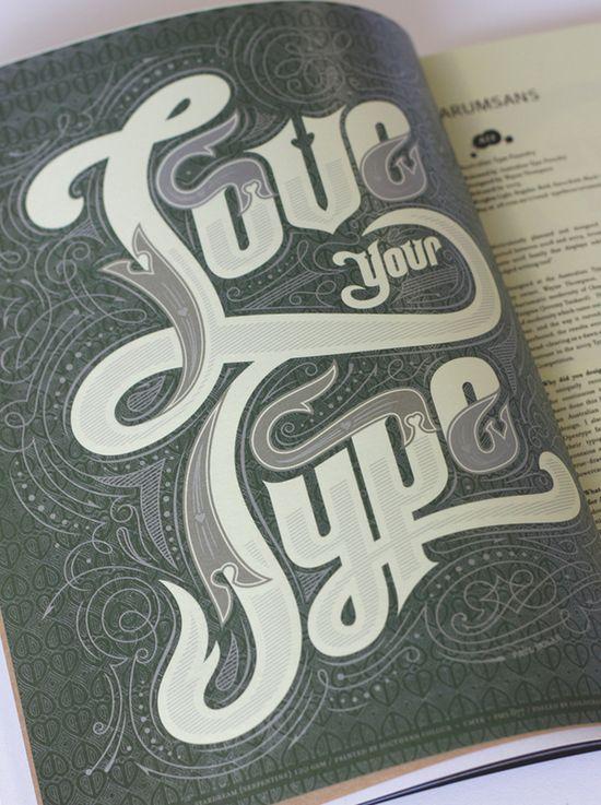 Magazine Title Page by Pno Nolan, via Behance