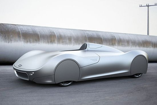 The Stromlinie 75 Concept Car 2013 Auto Union Type C