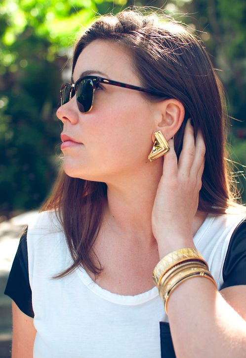 Chunky vintage jewelry...