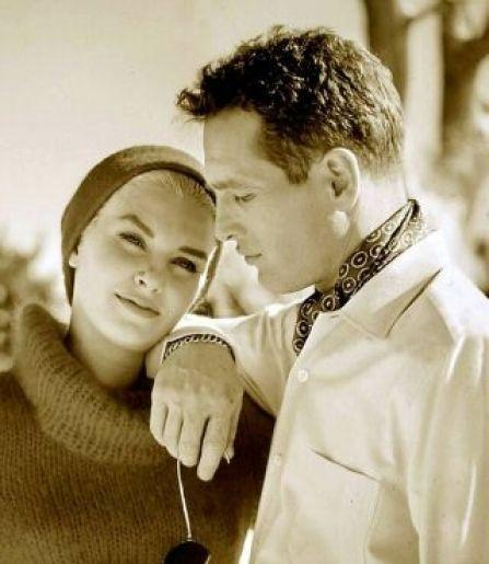 Joanne Woodward and Paul Newman.
