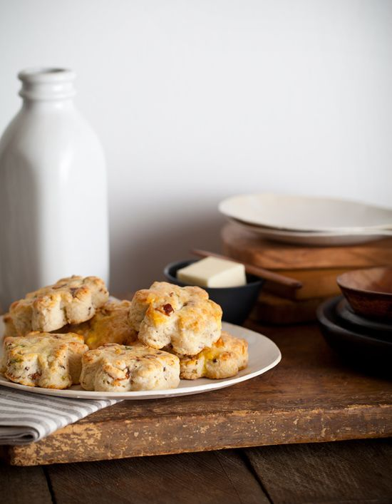 Bacon, Cheese, Scone... what's not to like.