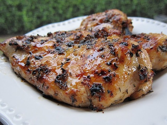 Honey-Lime Grilled Chicken.