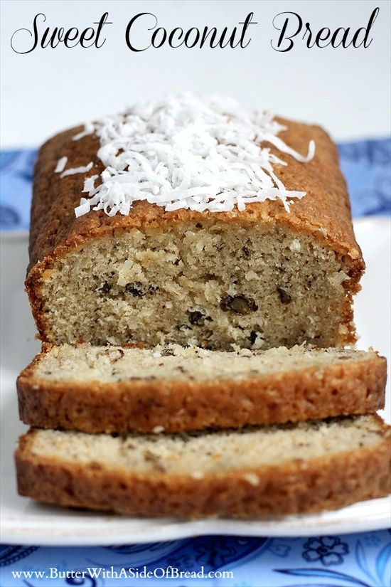 Sweet Coconut Bread