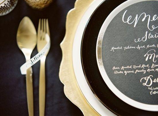 Wedding Stationery Inspiration: Dark + Moody