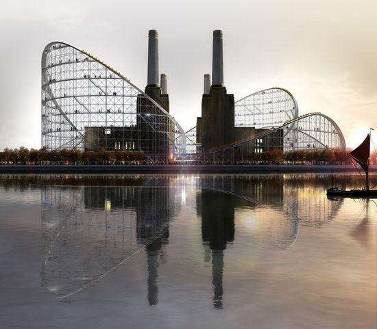 Design for Battersea Museum of Architecture by Atelier Zundel Cristea, Paris