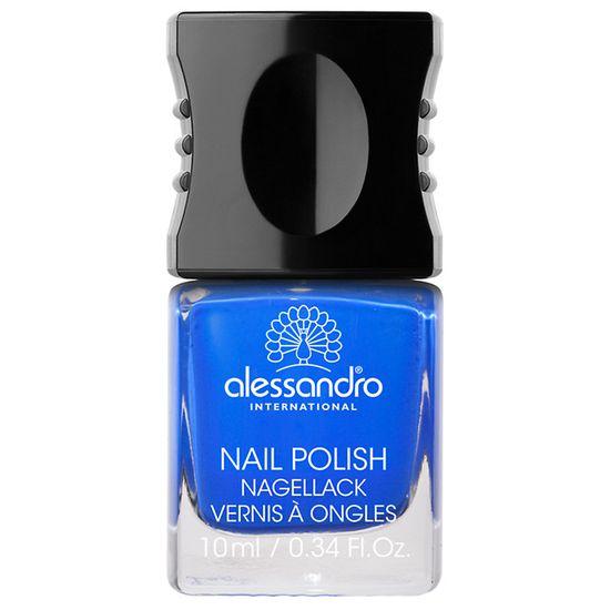 Alessandro Nail Polish, Deep Ocean Blue
