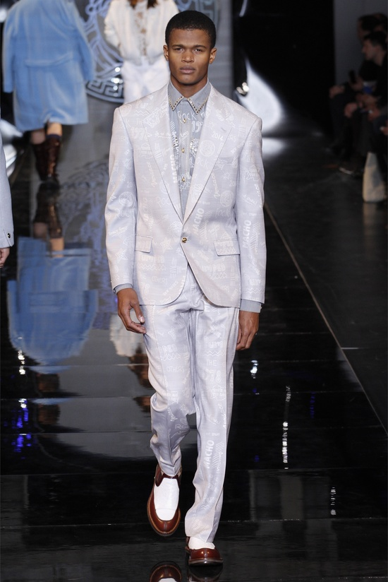 Versace menswear Fall Winter 2013-14 collection