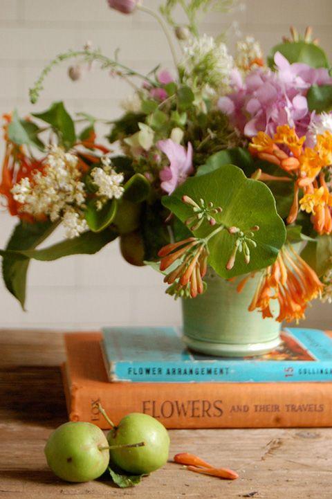 Online flower arranging class!